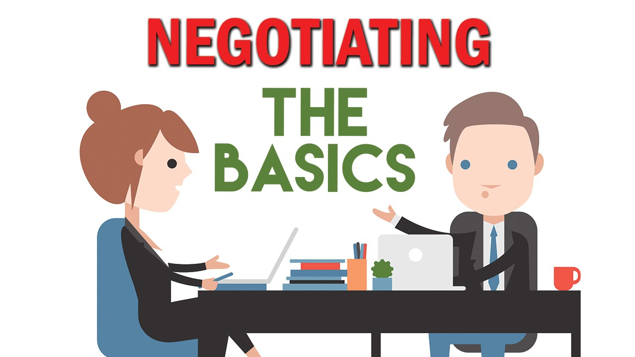 Negotiation basics when selling