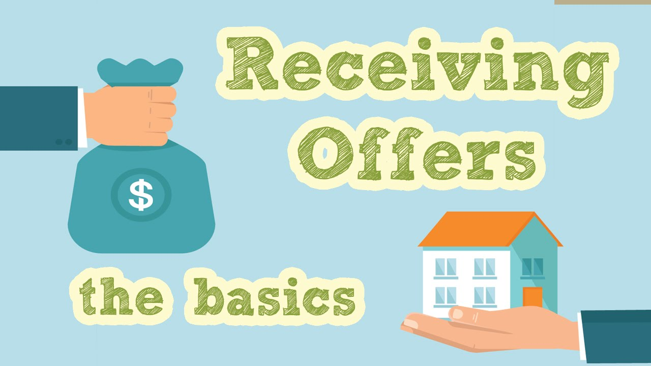 receiving offers on house