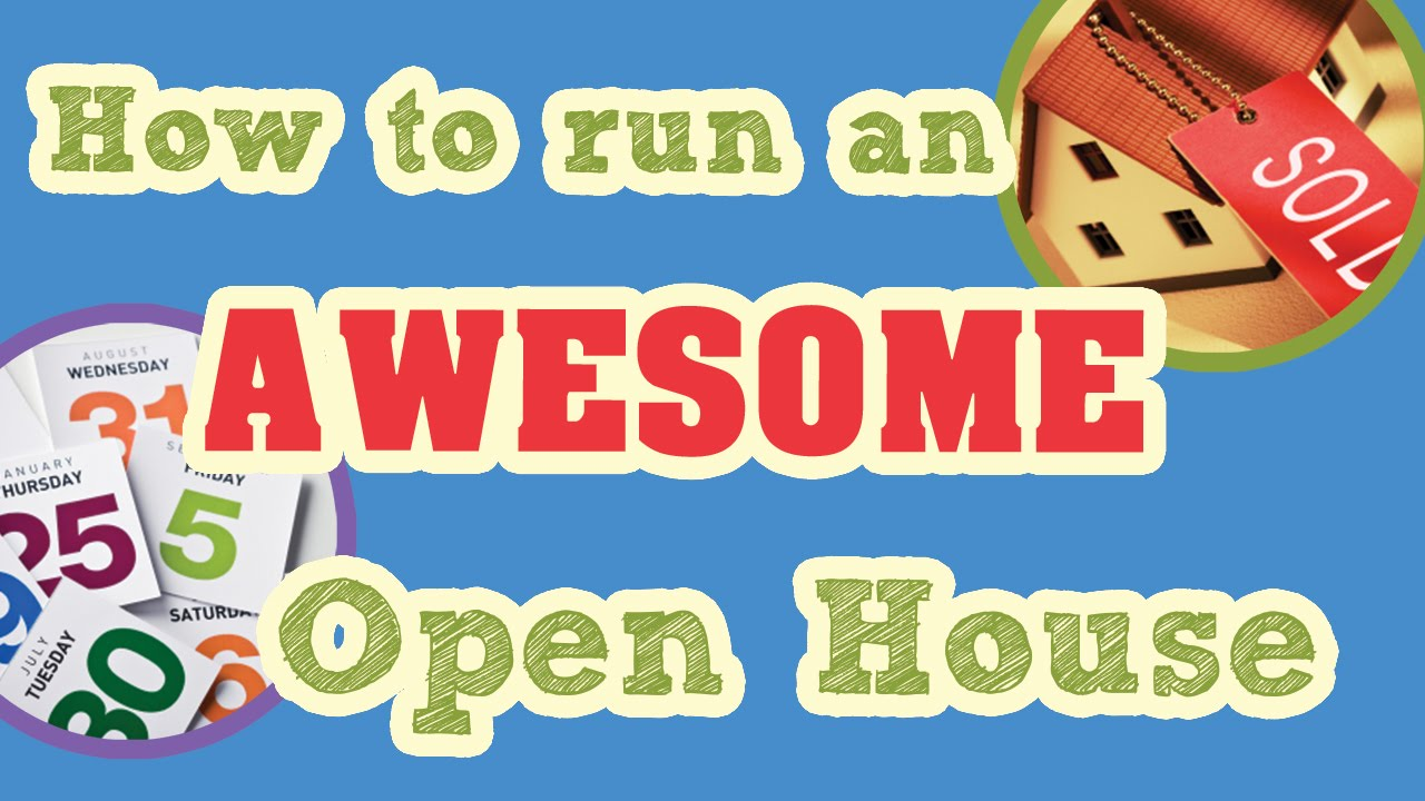 run an open house